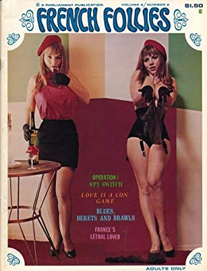 French Follies (Vintage adult magazine, Michelle Angelo: Bedault, Jean Louis