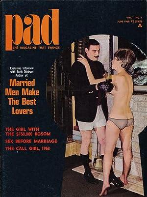 Pad (Vintage adult magazine, 1968): Batters, Elmer (photography);
