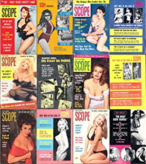 Picture Scope (8 vintage pinup digest magazines,: Magtab Publishing]