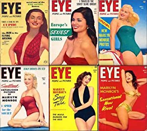 Eye [People and Pictures] (15 vintage tabloid: Various
