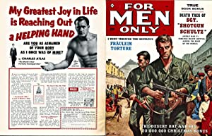 For Men Only (Vintage adventure magazine, 1959): Sarlat, Noah, and