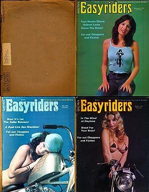 "Easyriders (3 vintage adult motorcycle magazines, 1976): Kimzey, Lou ""barf"""