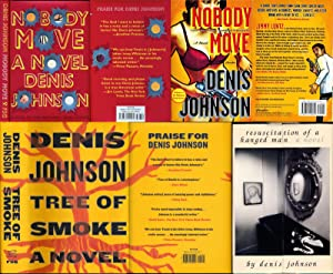 Denis Johnson (Collection, uncorrected proofs & First Edition)