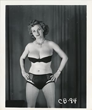 Cherrie Knight (2 original adult photographs, 1950s)