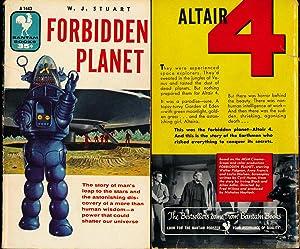Forbidden Planet (Vintage Science Fiction paperback, 1956): Stuart, W.J.