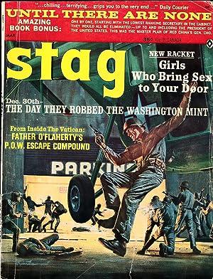 Stag (Vintage adventure magazine, Mar 1965): Sarlat, Noah, and