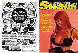 Swank (Vintage adult magazine, Michelle Angelo cover,: Zacharius, Walter, &