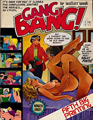 Comic erotic magazine