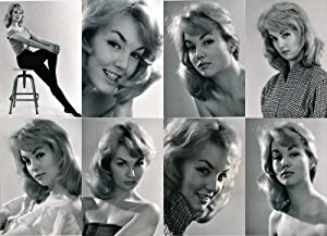 Mylene Demongeot (8 original portrait photographs, circa 1957)