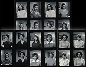 Rue de Paris (6 original contact sheets, French actresses, c. 1959)