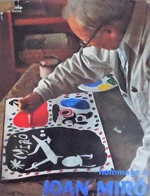 XXe Siecle Hommage a Joan Miro with Original Lithograph Numero Special: San Lazzaro, G. di