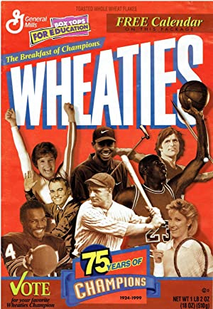 75 Years of Wheaties Champions (1924-1999) - 1999 Calendar