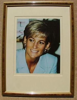 Princess Diana Signed original Colour Photograph: Princess Diana