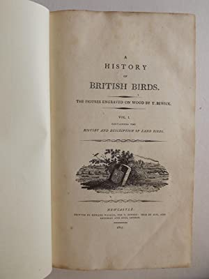 A History of British Birds, in Two: Thomas Bewick