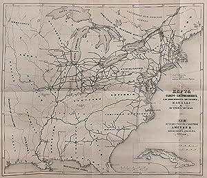 EAST COST OF NORTH AMERICA & CUBA]: Lakier, A.B.