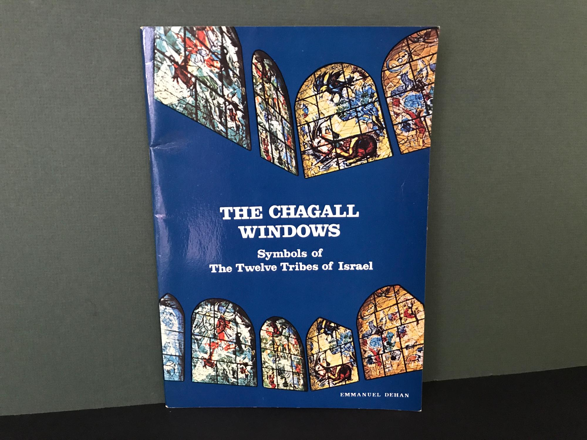 The Chagall Windows Symbols Of The Twelve Tribes Of Israel By Dehan
