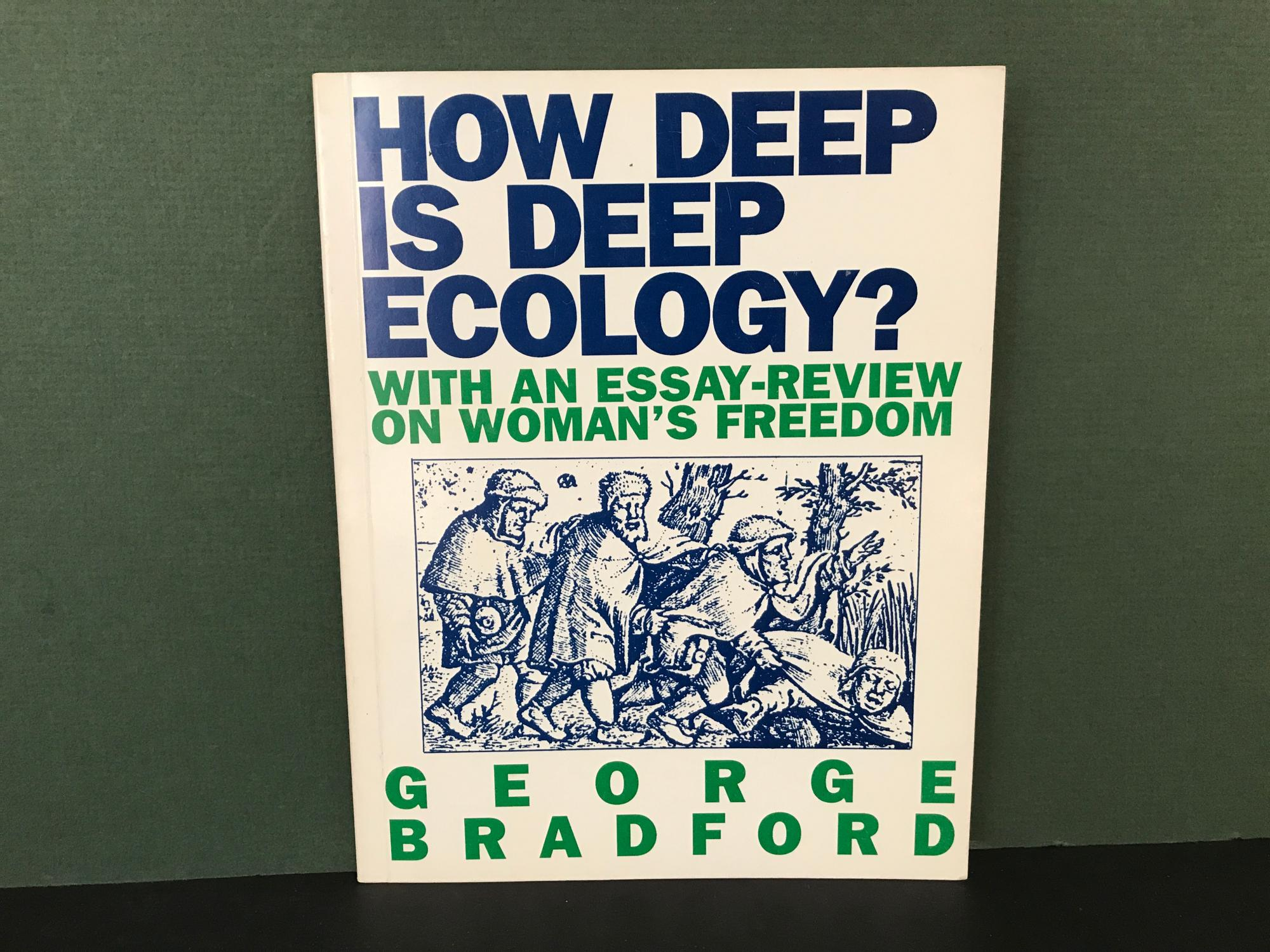 How Deep is Deep Ecology? - With an