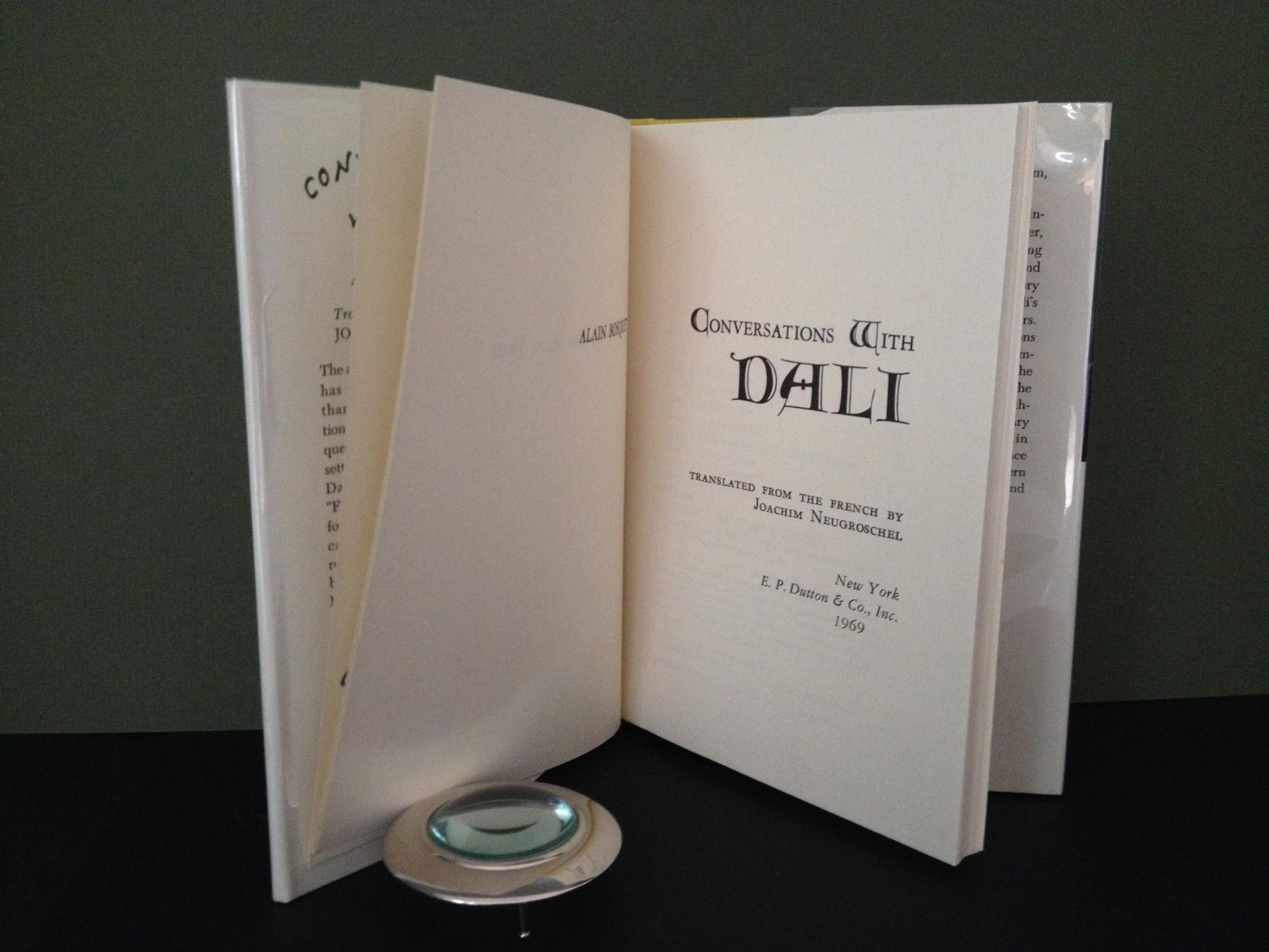 Conversations with Dali [Signed with