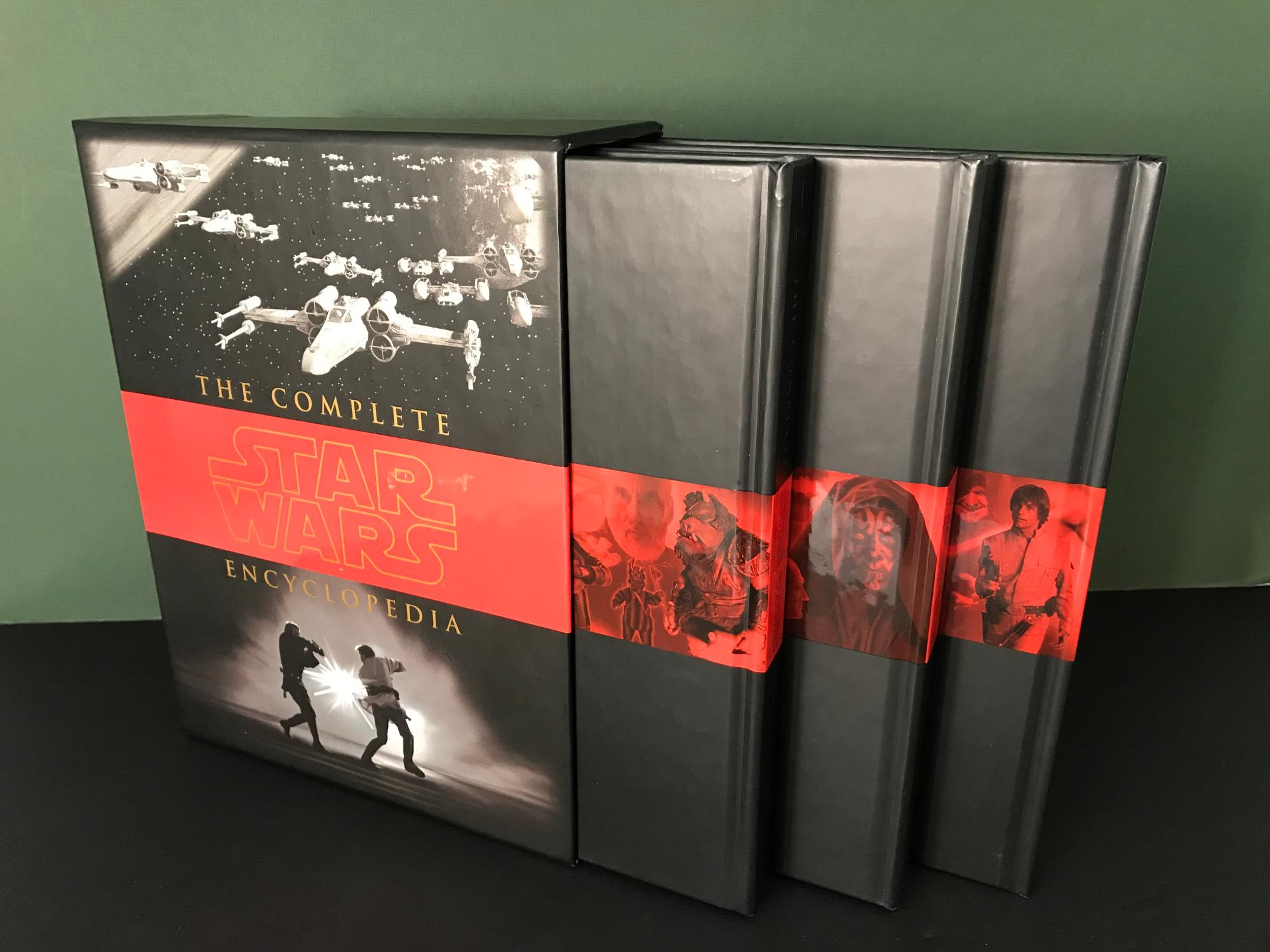 The Complete Star Wars Encyclopedia (3 VOLUMES COMPLETE, in SLIPCASE):  Sansweet, ...