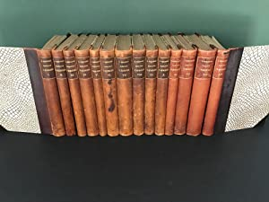 Soren Kierkegaard's Samlede Vaerker (14 VOLUMES - COMPLETE WORKS - FIRST EDITION in a FINE BINDING)