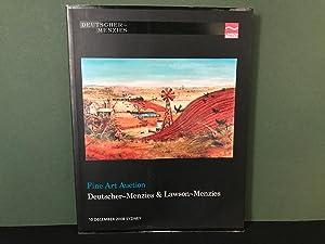 Deutscher-Menzies - Australian & International Art /: No Author Stated)