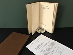Thoreau: Two Fragments from the Journals [Signed]
