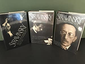 Stravinsky: Selected Correspondence - Volume 1, 2, & 3 (THREE VOLUMES - COMPLETE SET)