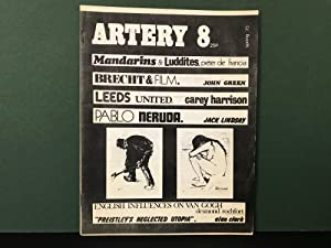 Artery 8: A Cultural Journal for Left Unity - Winter & Spring 1974/75