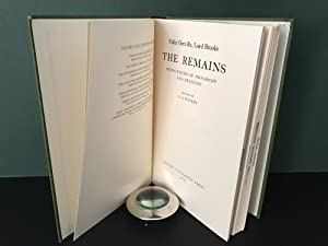 The Remains: Being Poems of Monarchy and Religion (Oxford English Monographs)