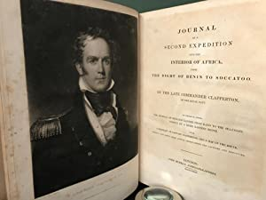 Journal of a Second Expedition Into the: Clapperton, Hugh (Captain)