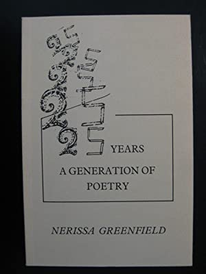 25 Years: A Generation of Poetry: Greenfield, Nerissa