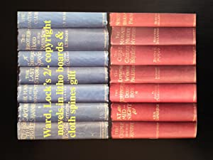 Ward, Lock's 2/- Copyright Novels in Litho Boards & Cloth Spines Gilt - With Notes on the 6d. Ser...
