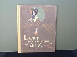 Lyrics Pathetic & Humorous from A to: Dulac, Edmund