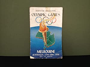 Souvenir Programme - Olympic Games - Melbourne,: International Olympic Committee