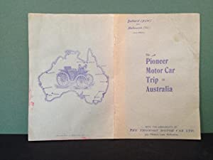A Record of the Pioneer Trip of the Thomson Motor Car - Driven by H. Thomson (the Inventor), Acco...