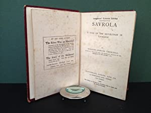 Savrola: A Tale of the Revolution in Laurania (Longmans' Colonial Library)