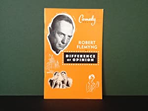 Robert Flemyng in Difference of Opinion -: Ross, George &