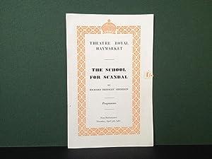 The School for Scandal - By Richard: Sheridan, Richard Brinsley