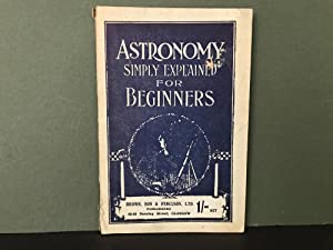 Astronomy Simply Explained for Beginners