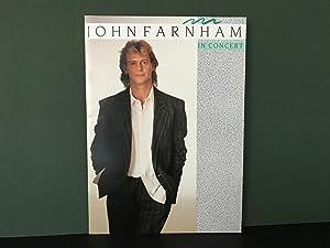 John Farnham in Concert 1987 (SOUVENIR TOUR: Farnham, John