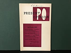 Present Opinion: Vol. III, No. 3, 1948 [3rd Term]