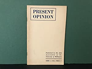 Present Opinion: No. 1, 1946 [Term 1]