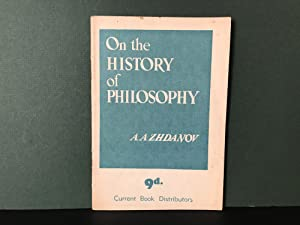 On the History of Philosophy