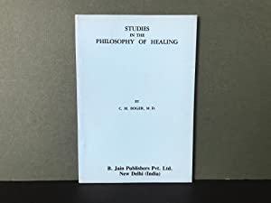 Studies in the Philosophy of Healing