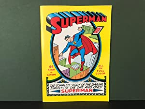Superman # 1 [The Complete Story of the Daring Exploits of the One and Only Superman] (FACSIMILE ...