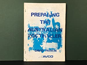Preparing the Australian Footballer