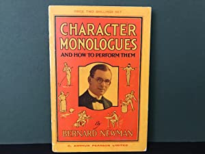 Character Monologues and How to Perform Them