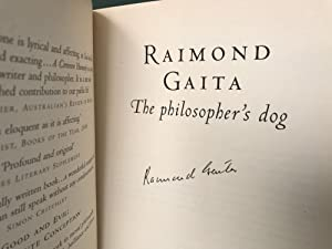 The Philosopher's Dog [Signed]