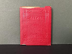 Salome: A Tragedy in One Act: Wilde, Oscar