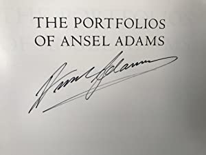 The Portfolios of Ansel Adams [Signed]: Adams, Ansel (Introduction